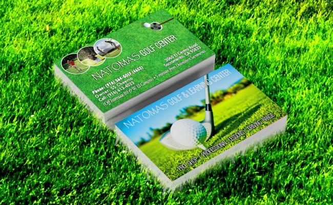 Natomas golf business card colourmoves
